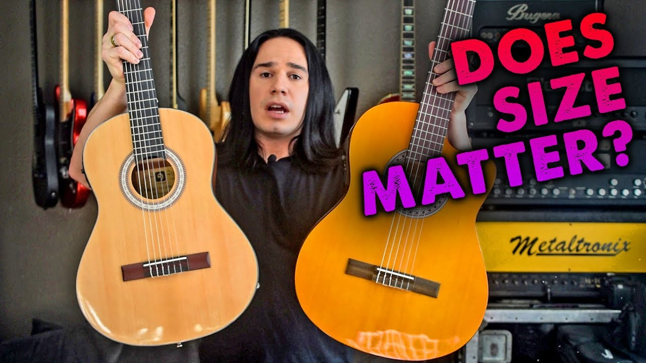 3/4 Size Guitar! Why? (Vangoa 3/4 Classical Acoustic Electric) – Demo / Review