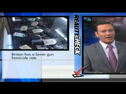 check - 1/9/13 - The gun control debate is often highly-emotional, with both sides throwing out statistics in an effort to sway Americans to either side of the aisle...