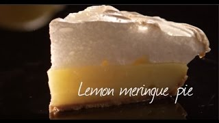 Emilie's lemon meringue pie