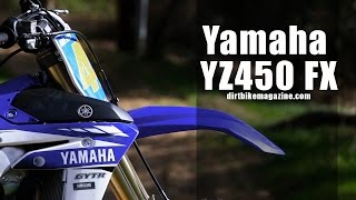 2. 2017 Yamaha YZ450 FX - Dirt Bike Magazine