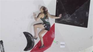 Hachioji Boulder World Cup Female Qualifier Highlights by Five Ten