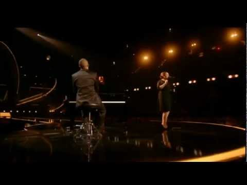Performs - Adele performs Someone Like You live at the BRIT Awards 2011.