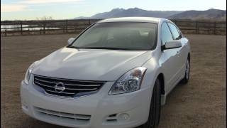 2012 Nissan Altima 2.5 S Review&Drive