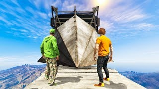 Let's go for 10000 likes! Subscribe for more videos! 0.1% SURVIVABLE CHALLENGE! (Gta 5 Funny Moments) Welcome back ...
