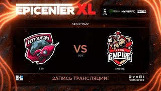 FTM vs Empire, EPICENTER XL, game 1 [v1lat, godhunt]