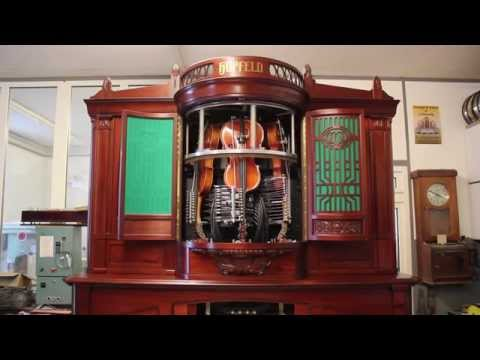 Beautifully Restored Violin Playing Machine