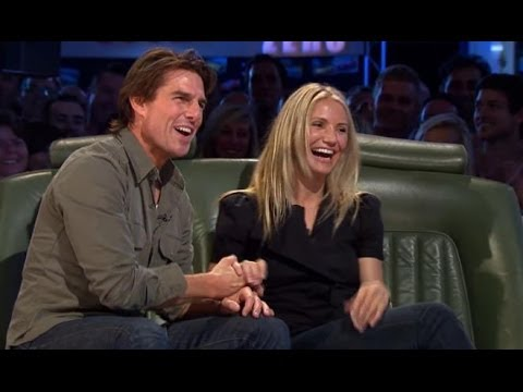 Cameron Diaz - Hollywood A-listers Tom Cruise and Cameron Diaz join Jeremy Clarkson on the Top Gear sofa before heading out on to the track as the Stars in a Reasonably Pri...