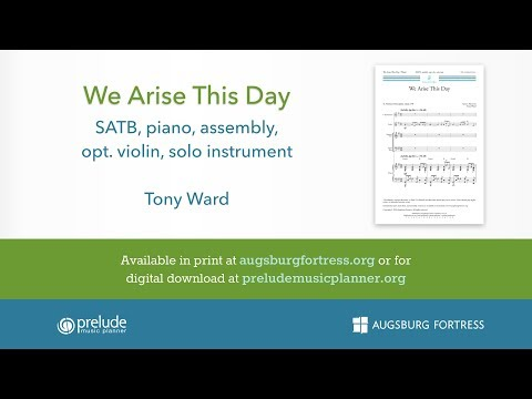 We Arise This Day - Tony Ward