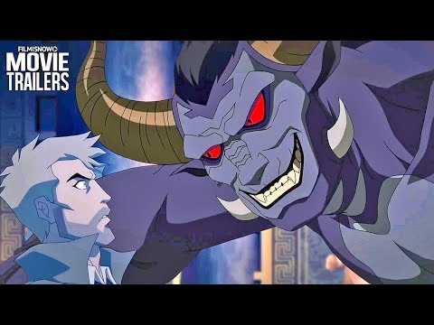 CONSTANTINE: CITY OF DEMONS Trailer NEW (2018) - DC Animation