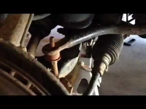 HOW TO replace sway bar bushings 1996-2002 Toyota 4Runner