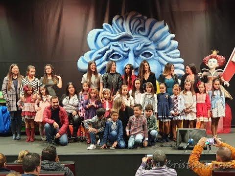 Presentación Damas de Honor Carnaval de Isla Cristina 2019