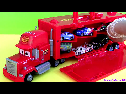 truck - From disney pixar cars & cars2, this is the mack truck hauler carry case and display from radiator springs classic collection exclusive from toysRus. This is...