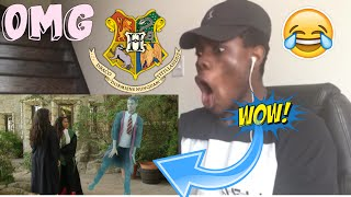 Hogwarts High School (Harry Potter) Lele Pons & Rudy Mancuso REACTION!!!