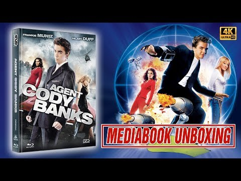 AGENT CODY BANKS || Mediabook || UNBOXING in 4K