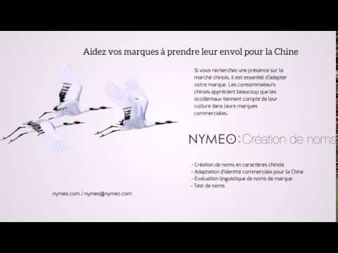 Création de nom de marque en chinois