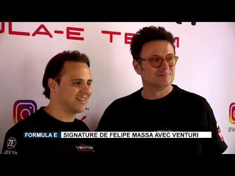 Formula E: Felipe Massa is signed up by Venturi