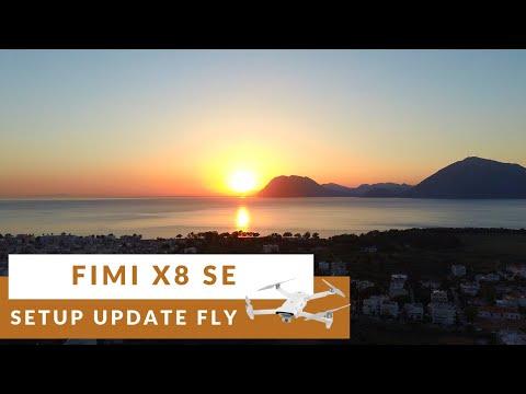 Fimi X8 SE  How to setup update and flight | Beautiful footage | Banggood.com