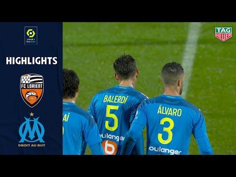 FC LORIENT - OLYMPIQUE DE MARSEILLE (0 - 1) - Highlights - (FCL - OM) / 2020-2021