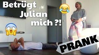BETRÜGT JULIAN MICH ?! :O ... PRANK | BibisBeautyPalace