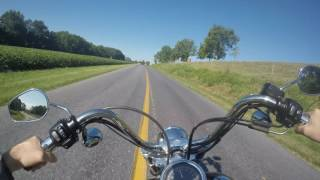 7. 2003 Harley Davidson Wide Glide 100th Anniversary Test Drive Review
