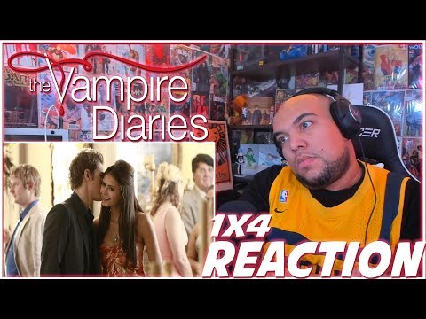 "The Vampire Diaries Reaction Season 1 Episode 4 ""Family Ties"" 1x4 REACTION!!!"