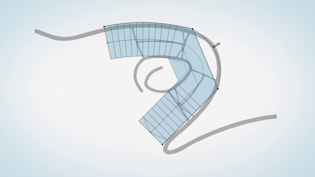 ARCHICAD 21's Stair/Railing concept video featuring the Charles Perkins Centre illustrates the possible v21-based conceptual design process of its iconic staircase.