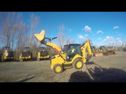Caterpillar BULDOEXCAVATOARE 420FST equipment video qfCHoEWbsJU