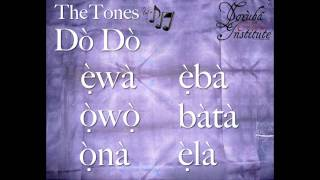 YCI - Learn The YORUBA Tones.