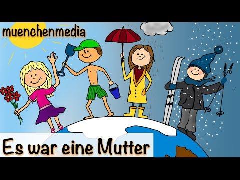 Es war eine Mutter | Kinderlieder zum Mitsingen | Kinderlieder deutsch | muenchenmedia