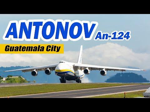 Visita del Antonov en el año 2018...