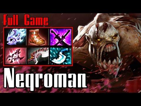 Neqroman Lifestealer - Dota 2 Full Game - vol 1 (Pub, 7000 MMR)
