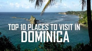 Top 10 Places To Visit in Dominica  Dominica Tourist Attractions  Dominica Travel Guide 1. Morne Trois Pitons national Park Morne Trois Pitons national Park ...