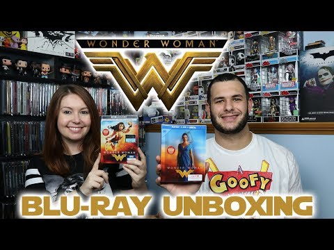 Wonder Woman Best Buy/Target Exclusives Unboxing