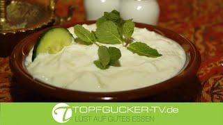 Dagug | Joghurt - Gurken - Salat mit Knoblauch