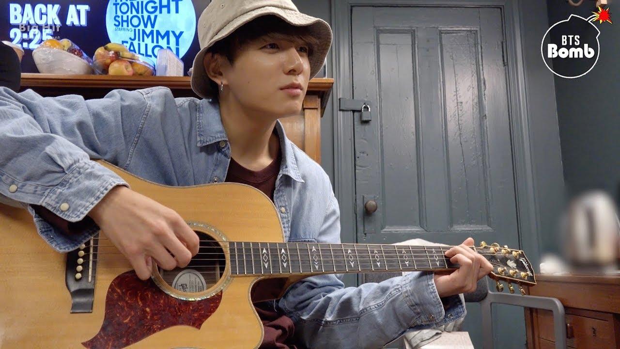 [BANGTAN BOMB] Let's play guitar! – BTS (방탄소년단)