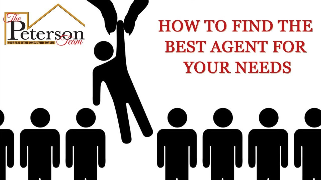 How Do You Find the Right Agent?