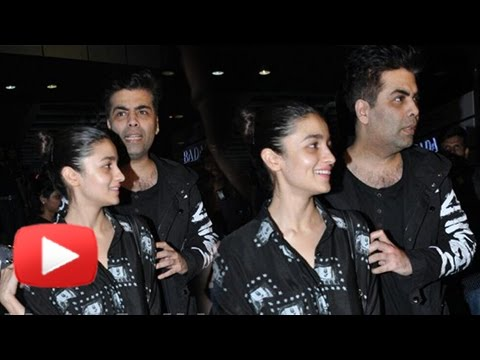 Alia Bhatt Dines With Mentor Karan Johar, But Look