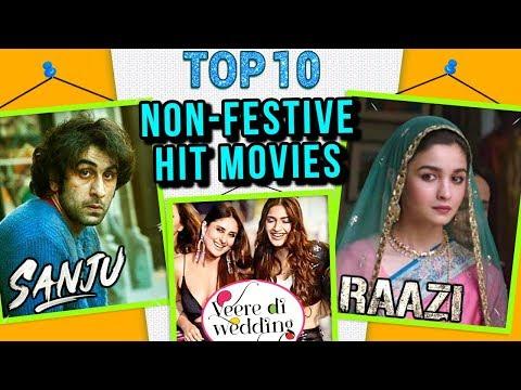 Top 10 HIT MOVIES NOT Released During Eid, Diwali,
