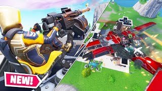 PLANES VS FORTRESS (PROTECT THE CORE) IN FORTNITE BATTLE ROYALE