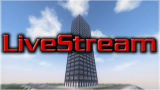 -•- LIVE STREAM -- Minecraft: City - Building 345 California Center -- LIVE STREAM -•-