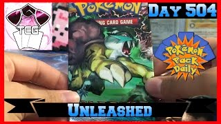 Pokemon Pack Daily HS: Unleashed Booster Opening Day 504 - Featuring CuriousCleffa TCG by ThePokeCapital