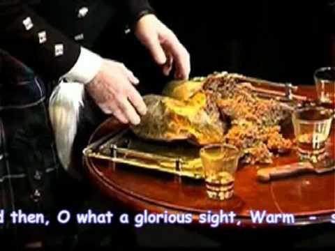 Robert Burns - Salute The Haggis
