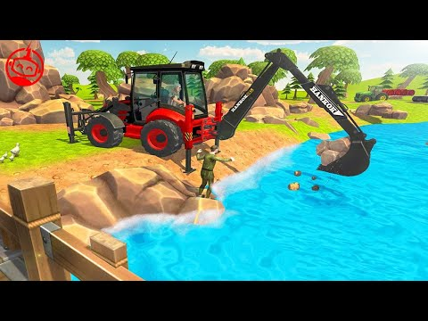 Heavy Excavator Construction Simulator Virtual Village | Kids Games 2019 | Android GamePlay FHD