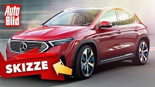Mercedes EQA (2020): Neuvorstellung - Skizze - Elektro - SUV - Infos by Auto Bild
