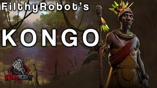 Filthy examining the bonuses and synergies of Mvemba a Nzinga's Kongo. Part of a series discussing each of the civilizations ...