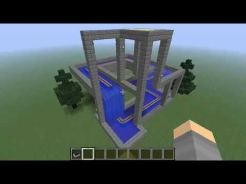Minecraft impossible waterfall
