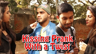 Kissing Prank with a Twist -