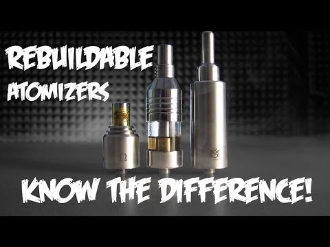 atomizers - Rebuildable Atomizers Tutorial RDA RBA Genesis and more. | 123Vaporizers How-To In this video, product specialist Matt will be discussing about the three mai...