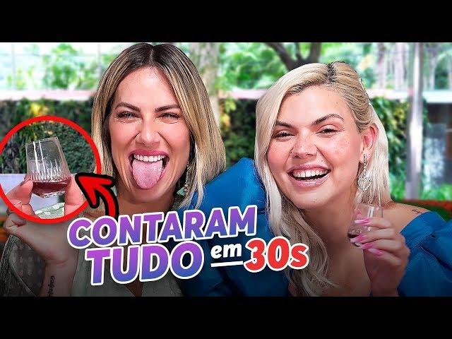 GIOH SABE TUDO DE MÚSICA??? - DESAFIO DOS 30 SEGUNDOS COM DUDA BEAT - Giovanna Ewbank