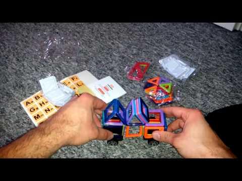 InnooTech 76tlg mini Magnetische Bausteine Konstruktionsbausteine Bauklötze